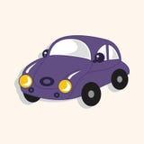 Transportation car theme elements vector,eps. Vector illustration file Stock Photography