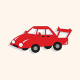 Transportation car theme elements vector,eps. Vector illustration file Royalty Free Stock Photography