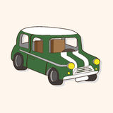 Transportation car theme elements vector,eps. Vector illustration file Royalty Free Stock Photo