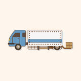 Transportation car theme elements vector,eps. Vector illustration file Stock Images