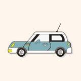 Transportation car theme elements vector,eps Royalty Free Stock Image