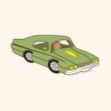 Transportation car theme elements vector,eps Stock Image