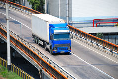 Transportation of cargoes by lorry Stock Photography