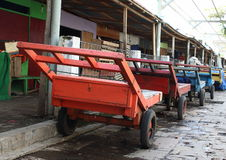 Transportation carts Stock Photography