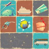 Transportation Collage Stock Photos