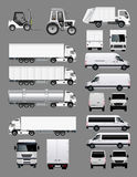 Transportation Collection Royalty Free Stock Image