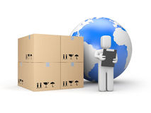 Global delivery Royalty Free Stock Photography