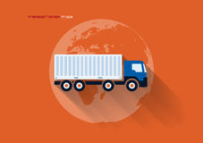 Transportation Concept - Truck Royalty Free Stock Images