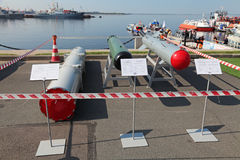 Transportation container, anti-torpedo and guided bomb Stock Photography