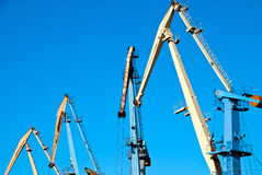 Transportation cranes Royalty Free Stock Photo