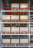 Transportation crates Stock Photo