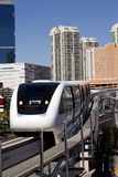 Transportation: Electric Monorail Train Royalty Free Stock Photo