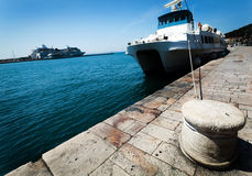 Transportation Ferryboat Stock Photo