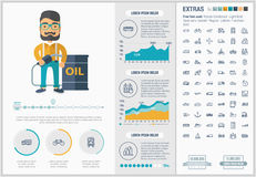 Transportation flat design Infographic Template vector illustration