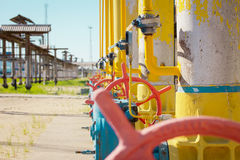Transportation of gas Stock Photography