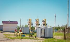 Transportation of gas Stock Photo