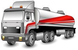Transportation gasoline royalty free illustration