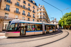 Transportation in Grenoble Royalty Free Stock Photos
