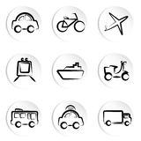 Transportation icon Stock Photography