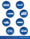 Transportation icon Stock Photo
