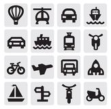 Transportation icon Stock Images