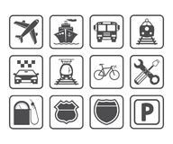 Transportation icon. Stock Image