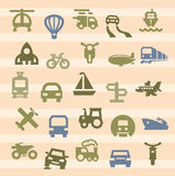 Transportation icon Stock Image