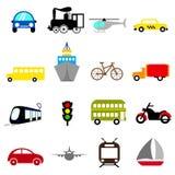 Transportation Icon Set Royalty Free Stock Image