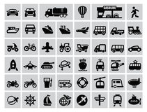 Transportation icon Stock Photos