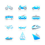 Transportation icons | MARINE series Stock Images