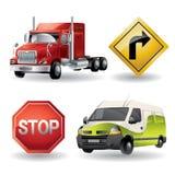 Transportation Icons - Super Render Stock Images