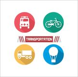 Transportation Illustration Royalty Free Stock Photos
