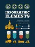 Transportation Infographic Element Stock Photo