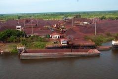 Iron ore stock image