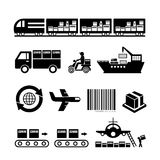 Transportation and  logistics export Royalty Free Stock Images