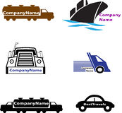 Transportation Logo Royalty Free Stock Photos