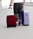Transportation of luggage Stock Photos