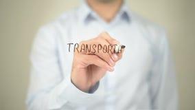 Transportation Management, Man Writing on Transparent Screen. Man writing on transparent screen stock footage
