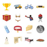 Transportation, mine, space and other web icon in cartoon style.Furniture, sport, wedding icons in set collection. Transportation, mine, space and other  icon Stock Photo