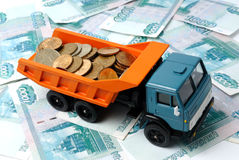 Transportation Money Stock Image