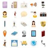 Transportation of money icons set, cartoon style Stock Photo