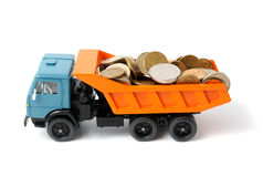 Transportation money Stock Photography