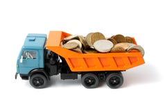 Transportation money Stock Photography