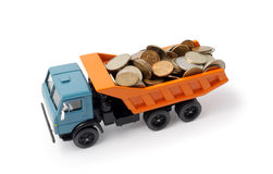Transportation money Royalty Free Stock Image