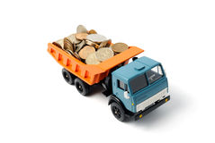 Transportation money Royalty Free Stock Images