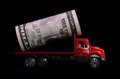 Transportation of Money Stock Photo