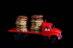 Transportation of Money Royalty Free Stock Photos