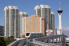 Transportation: Monorail Train Royalty Free Stock Image