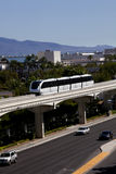 Transportation: Monorail Train Stock Photos
