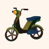 Transportation motor theme elements vector, eps Royalty Free Stock Photography